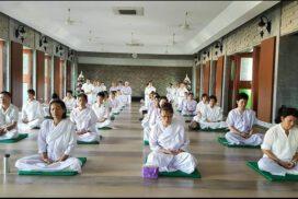 เรียนสมาธิ Meditation สถาบันพลังจิตตานุภาพ สาขา 126 วัดศรีมหาราชา อ.ศรีราชา จ.ชลบุรี