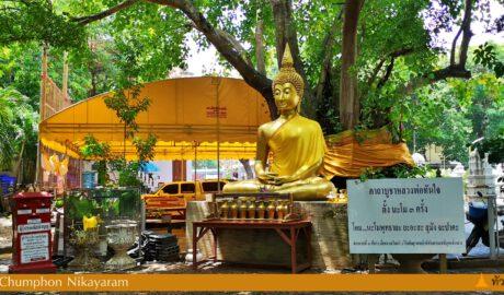 วัดชุมพลนิกายาราม ราชวรวิหาร Wat Chumphon Nikayaram Ratchaworawihan ต.บางเลน อ.บางปะอิน พระนครศรีอยุธยา