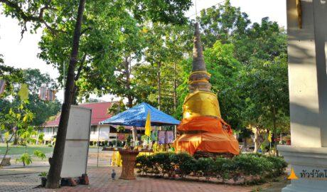 วัดช้าง Wat Chang (ช้างให้ Wat Chang Hai) อ่างทอง